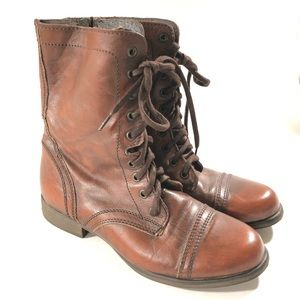 """Steve Madden brown """"troopa"""" boots/ 9"""